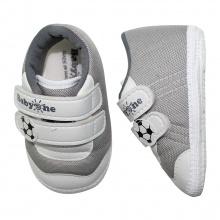 Giày tập đi bé trai BabyOne SS0815 - HELLO B&B - Size 17, 18 (Xám)