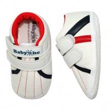 Giày tập đi bé trai BabyOne SS0816 - HELLO B&B - Size 17, 18 (Màu trắng)