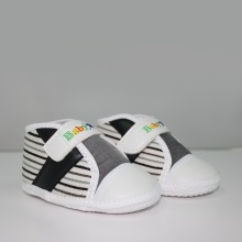 Giày tập đi bé trai BabyOne SS0818 - HELLO B&B - Size 17,18 (Màu trắng)