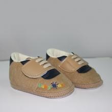 Giày tập đi bé trai BabyOne SS0820 - HELLO B&B - Size 17, 18 (Màu nâu)
