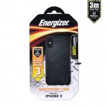 Ốp lưng carbon Energizer chống sốc 3m cho iPhone X - ENCOUL3MIP8CB