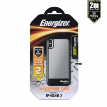 Ốp lưng Energizer chống sốc 2m cho iPhone X - ENCOSPIP8BK