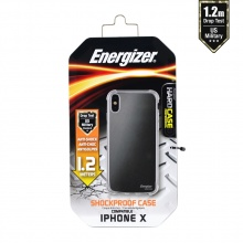 Ốp lưng trong suốt Energizer HC chống sốc 1.2m cho iPhone X - ENCMA12IP8TR