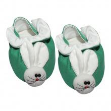 Giày hộp con thỏ bé trai, bé gái SS0060 - HELLO B&B - Freesize (Xanh lá)