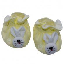 Giày hộp con thỏ bé trai, bé gái SS0060 - HELLO B&B - Freesize (Vàng nhạt)
