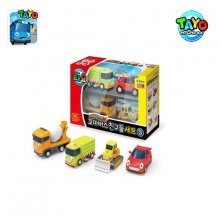 Đồ chơi mini Car set 4 styles 2 (Heart/Max/Poco/Bongbong)