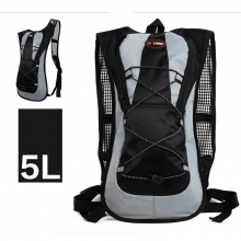 Balo xe đạp, túi xe đạp thoáng khí, nhẹ, chất liệu cao cấp POPO Collection (Đen)