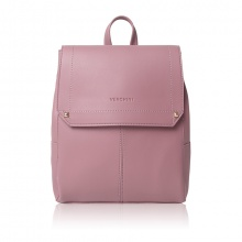 Balo thời trang Verchini màu hồng ruốc 009386