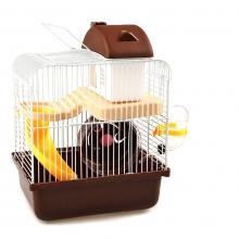 Lồng chuột Hamster 30cmx23cmx17cm nâu HH60