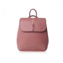 Balo thời trang Verchini màu hồng ruốc 008784
