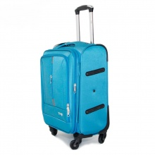 Vali vải TRIP P031 size 50cm (20inch) xanh thiên thanh