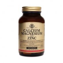 Solgar® Canxi Magie Kẽm Calcium Magnesium Plus Zinc 100 viên nén - Nhập khẩu USA chính hãng - tặng kèm áo thun