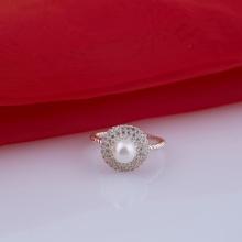 Nhẫn bạc đính ngọc trai Opal - T05