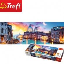 Tranh ghép hình TREFL 29037 - panorama 1000 mảnh kênh lớn, Venice (jigsaw puzzle tranh ghép hình chính hãng TREFL)