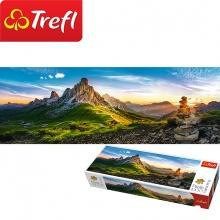 Tranh ghép hình TREFL 29038 - panorama 1000 mảnh núi Passo di Giau, Dolomites (jigsaw puzzle tranh ghép hình chính hãng TREFL)