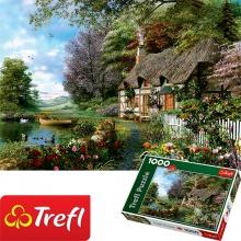 Tranh ghép hình TREFL 10297 - 1000 mảnh Góc vườn xinh đẹp (jigsaw puzzle tranh ghép hình chính hãng TREFL)