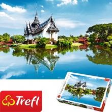 Tranh ghép hình TREFL 10437 - 1000 mảnh cung điện Sanphet Prasat (jigsaw puzzle tranh ghép hình chính hãng TREFL)
