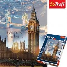 Tranh ghép hình TREFL 10395 - 1000 mảnh rạng đông ở London (jigsaw puzzle tranh ghép hình chính hãng TREFL)