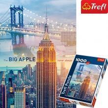 Tranh ghép hình TREFL 10393 - 1000 mảnh rạng đông ở New York (jigsaw puzzle tranh ghép hình chính hãng TREFL)