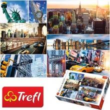 Tranh ghép hình TREFL 45006 - 4000 mảnh New York (jigsaw puzzle tranh ghép hình chính hãng TREFL)