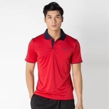 Áo thể thao tennis nam Dunlop - DATEF7001-1C-RED (Đỏ)