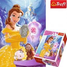 Bộ 4 tranh ghép hình TREFL mini 54145  mỗi tranh là  54 mảnh trong thế giới cổ tích/ Disney Princess  (jigsaw puzzle tranh ghép hình chính hãng TREFL)