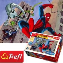 Bộ 4 tranh ghép hình TREFL mini 54101 -  Mỗi tranh nhỏ 54 mảnh người nhện/ Disney Marvel Spiderman  (jigsaw puzzle tranh ghép hình chính hãng TREFL)
