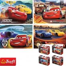 Bộ 4 tranh ghép hình TREFL miniMaxi 56012 - 20 mảnh những người chiến thắng/ Disney Cars 3  (jigsaw puzzle tranh ghép hình chính hãng TREFL)