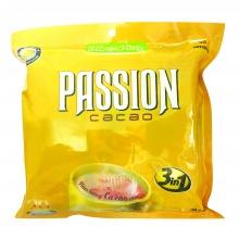 Bột cacao Passion  3 in 1 (30 gói x 16g) (Túi nhựa)