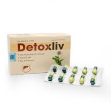 Thực phẩm bảo vệ sức khỏe viên uống thải độc cơ thể Detoxliv (40 viên)