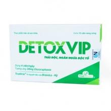 Thực phẩm bảo vệ sức khỏe thải độc cấp tế bào DetoxVip (30 viên)