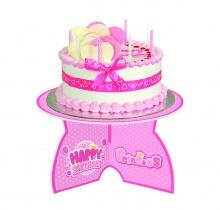 Đế bánh Happy Birthday - Công Chúa