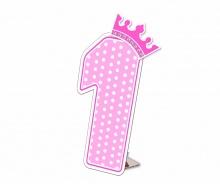 Số tuổi Happy Birthday - Công chúa 1 tuổi