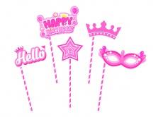 Cây chụp hình Happy Birthday - Công chúa