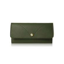 Bóp cầm tay thời trang Verchini màu xanh rêu 009447