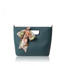 Túi thời trang Verchini màu xanh cổ vịt 007636