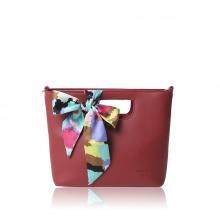 Túi thời trang Verchini màu đỏ mận 007644