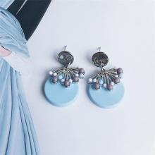 Bông tai thời trang zuna - Tatiana - BH3022 (Xanh biển)