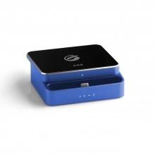 Dock sạc dự phòng đa năng Ego chuẩn wireless Qi cổng type C (Màu xanh)