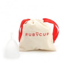 Cốc nguyệt san Ruby Cup - Nhập khẩu chính hãng từ Anh (màu trong suốt, size M)