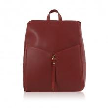 Balo thời trang Verchini màu đỏ mận 009302