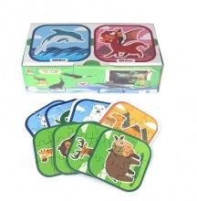 Ekidar bộ 48 thẻ xếp hình vườn thú 4D dùng cho smartphone và tablet