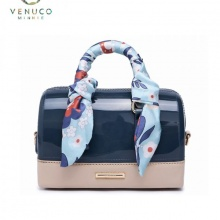 Túi trống dài mini Venuco Madrid S368 màu xanh blue
