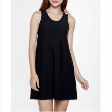 Mimi - Váy dệt kim đen