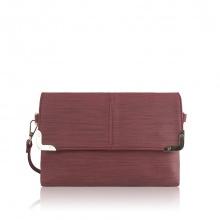Túi thời trang Verchini màu đỏ mận 005900