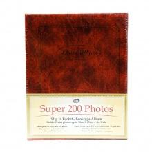 Tập ảnh 200 tấm bìa giấy UBL SA0001 ( Nâu )
