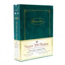 Tập ảnh 200 tấm bìa giấy UBL SA0001 ( Xanh )