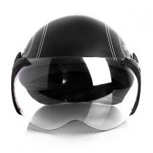 Mũ bảo hiểm SPO cao cấp (Đen)
