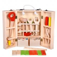 Bộ đồ chơi bằng gỗ đồ nghề sửa chữa đa chức năng