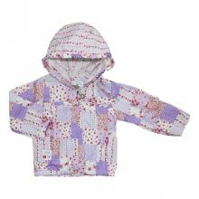 Áo khoác mỏng bé gái 6172 - AN6172 - Size 1 - 6 Years (Ô vuông tím) - GiGi Girls